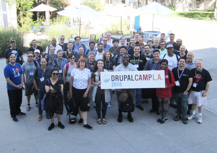 DrupalCamp LA 2018 Group photo