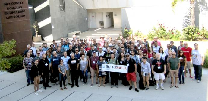 DrupalCamp LA 2017 Group photo