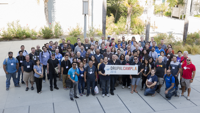 DrupalCamp LA 2016 Group photo